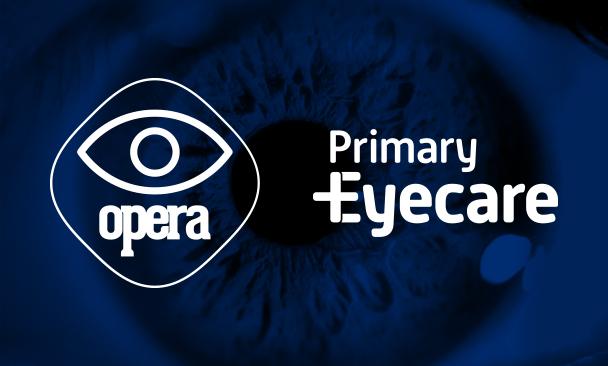 Opera and Primary Eyecare logos