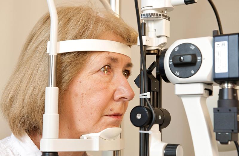 Cataract slit lamp